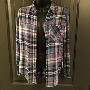Abercrombie & Fitch Soft Flannel Long Sleeve